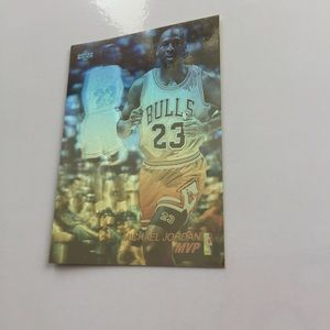 Other - Michael Jordan Hologram  #AW4 Upper Deck 92